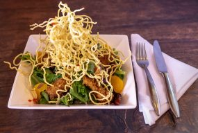 Oriental Crispy Chicken Salad